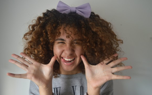 fro with a bow